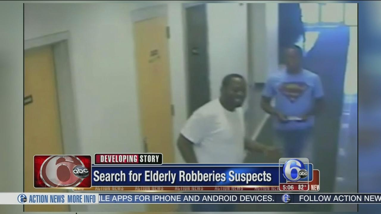 VIDEO: Search for robbery suspects
