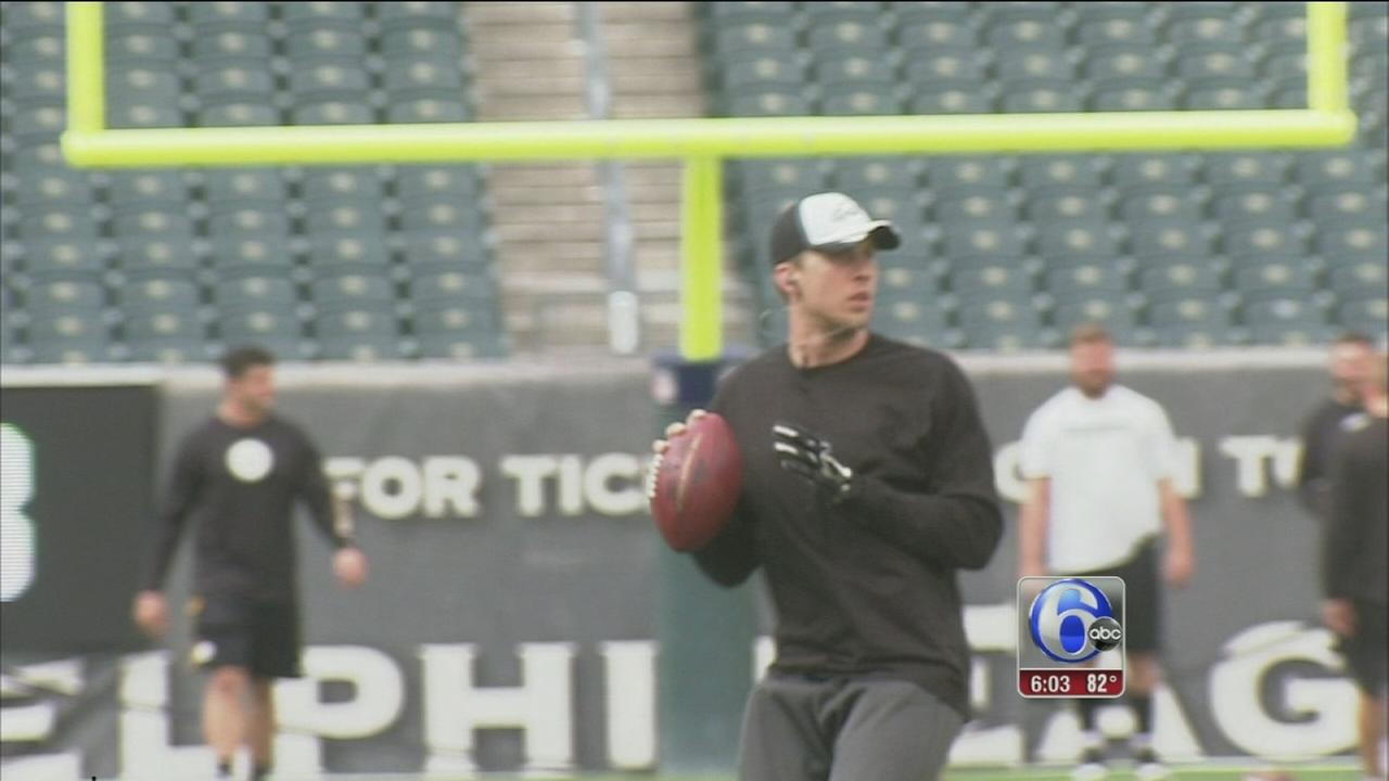 VIDEO: Eagles ready for Steelers in preseason home opener