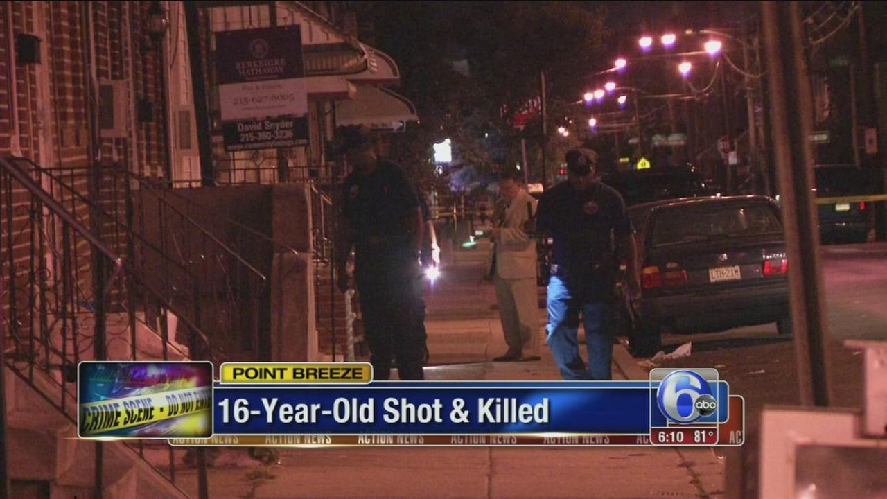 VIDEO: Teen shot and killed in Point Breeze IDd