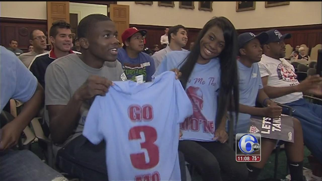 VIDEO: Philly fans still proud of Taney Dragons
