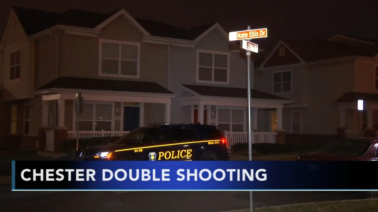 Two men injured in Chester double shooting