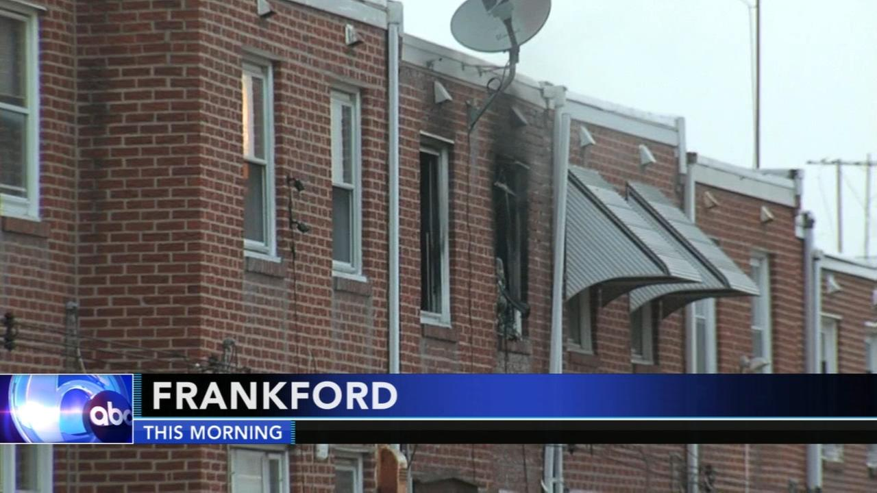 Fire damages home in Frankford