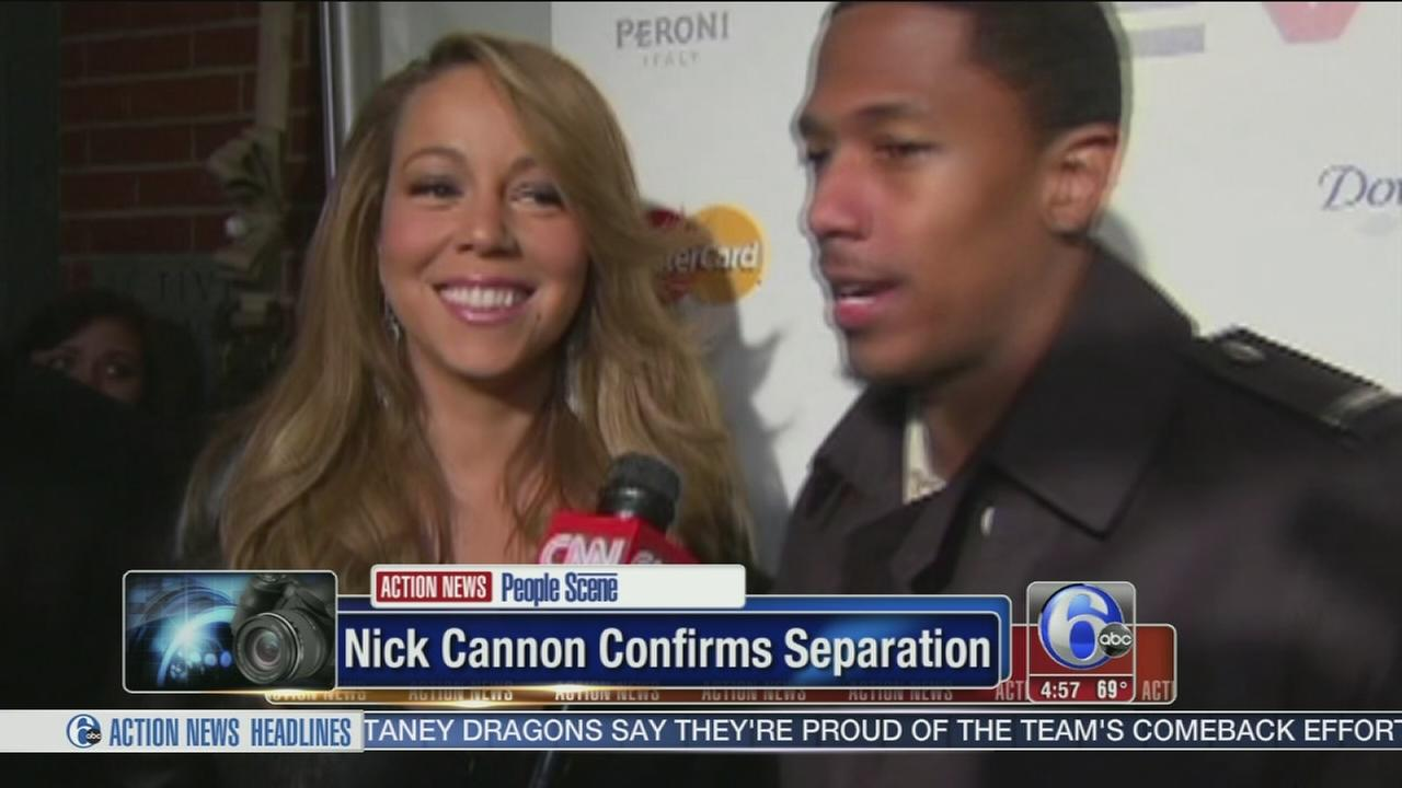 VIDEO: Nick Cannon comfirms split with Mariah