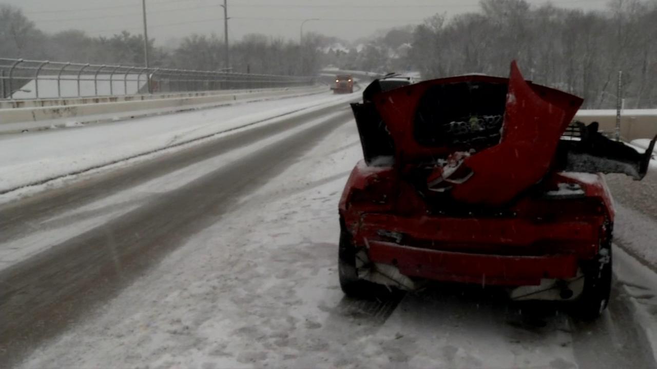 RAW VIDEO: Teen hurt in Delaware crash