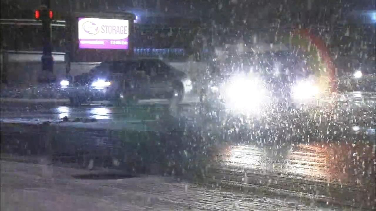Concern about icy roads as temperatures drop