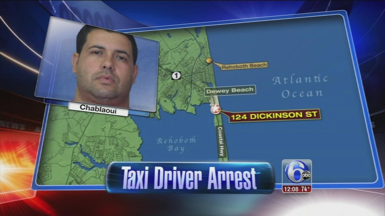 VIDEO: Cabbie raped passenger, police say