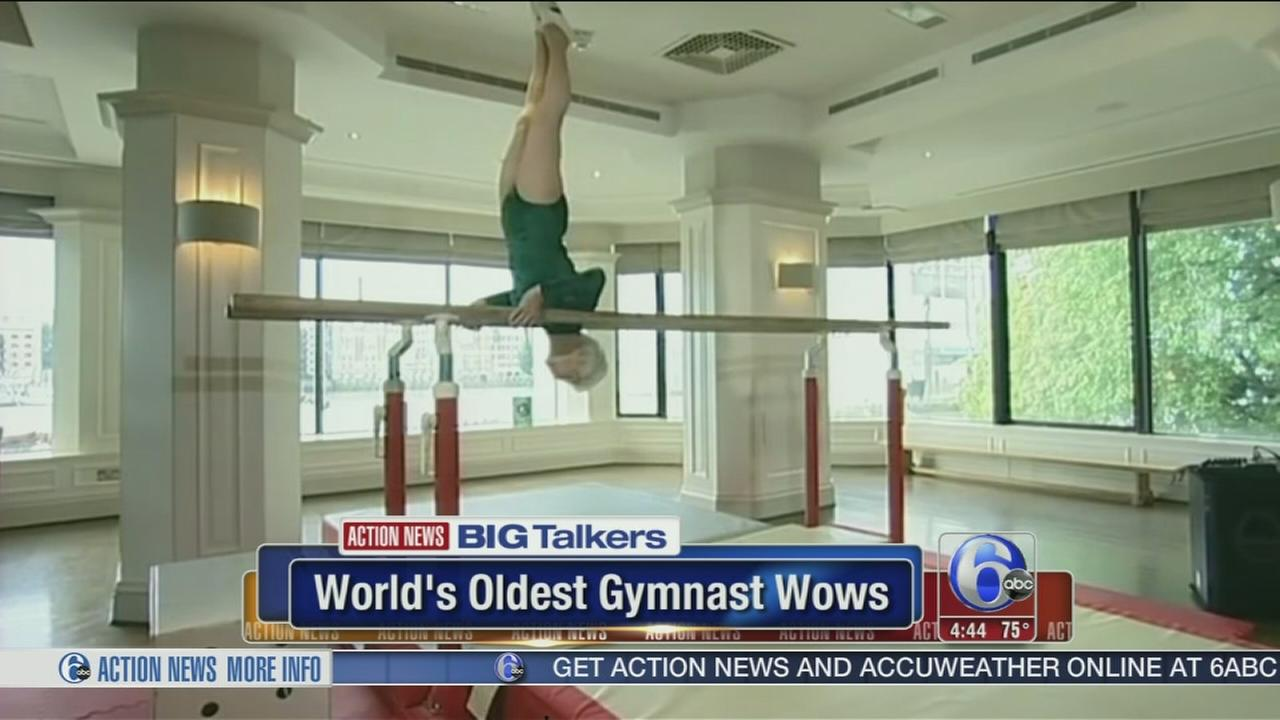 VIDEO: 87-year-old gymnast still has the moves