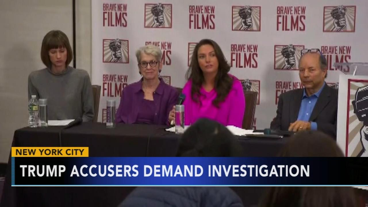 3 Trump accusers speak out