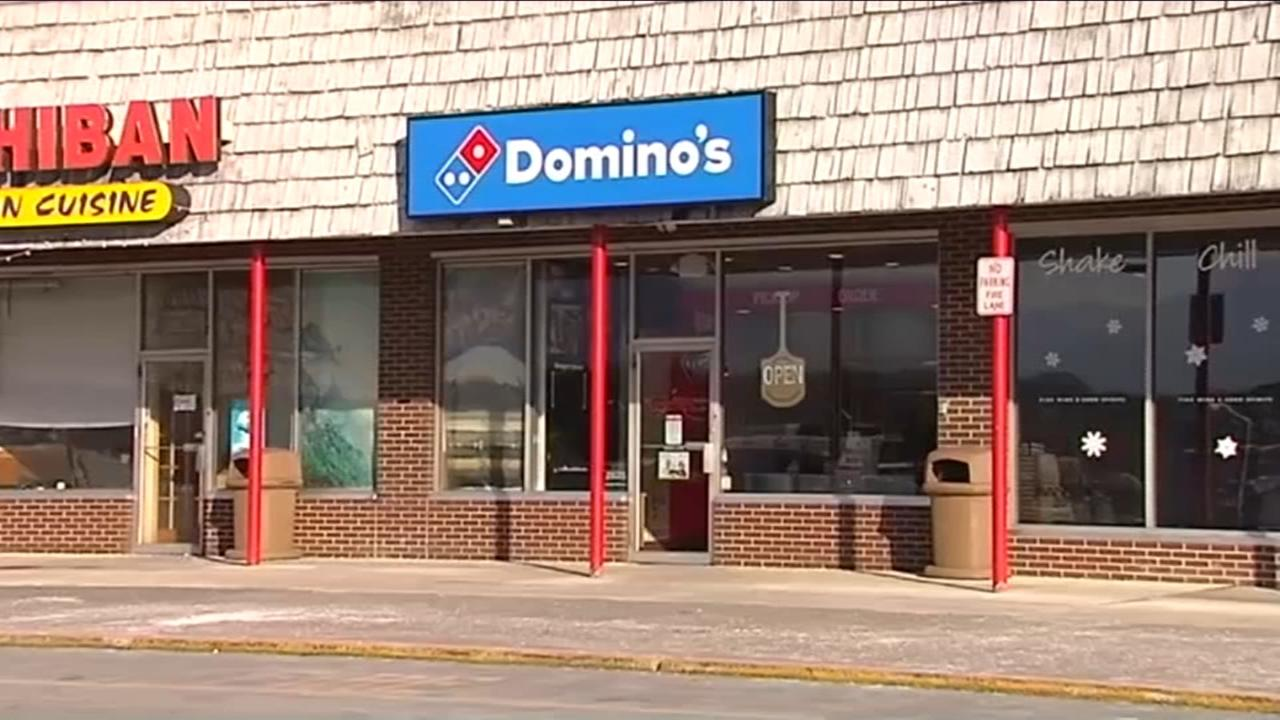 Pizza delivery driver shot in face