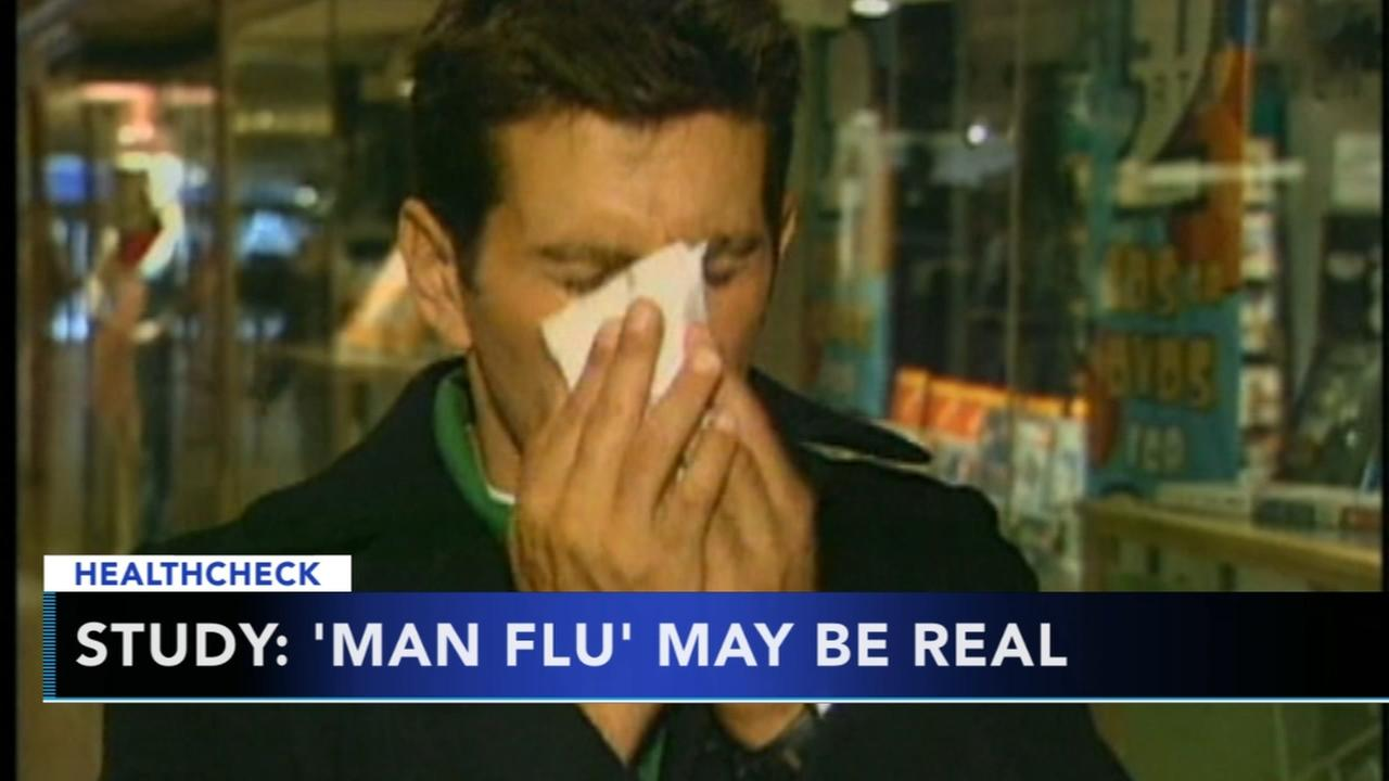 Study: Man flu may be real