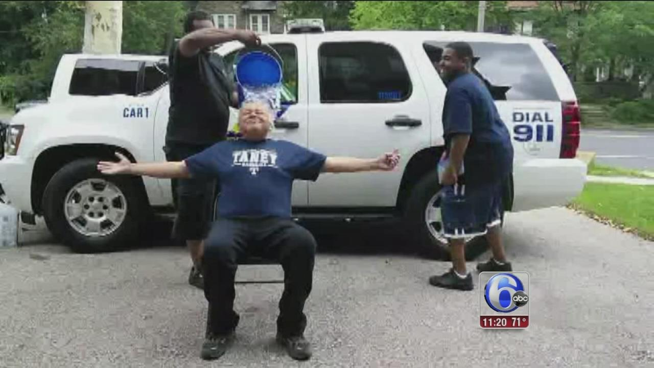 VIDEO: Philly police commissioner takes Ice Bucket Challenge