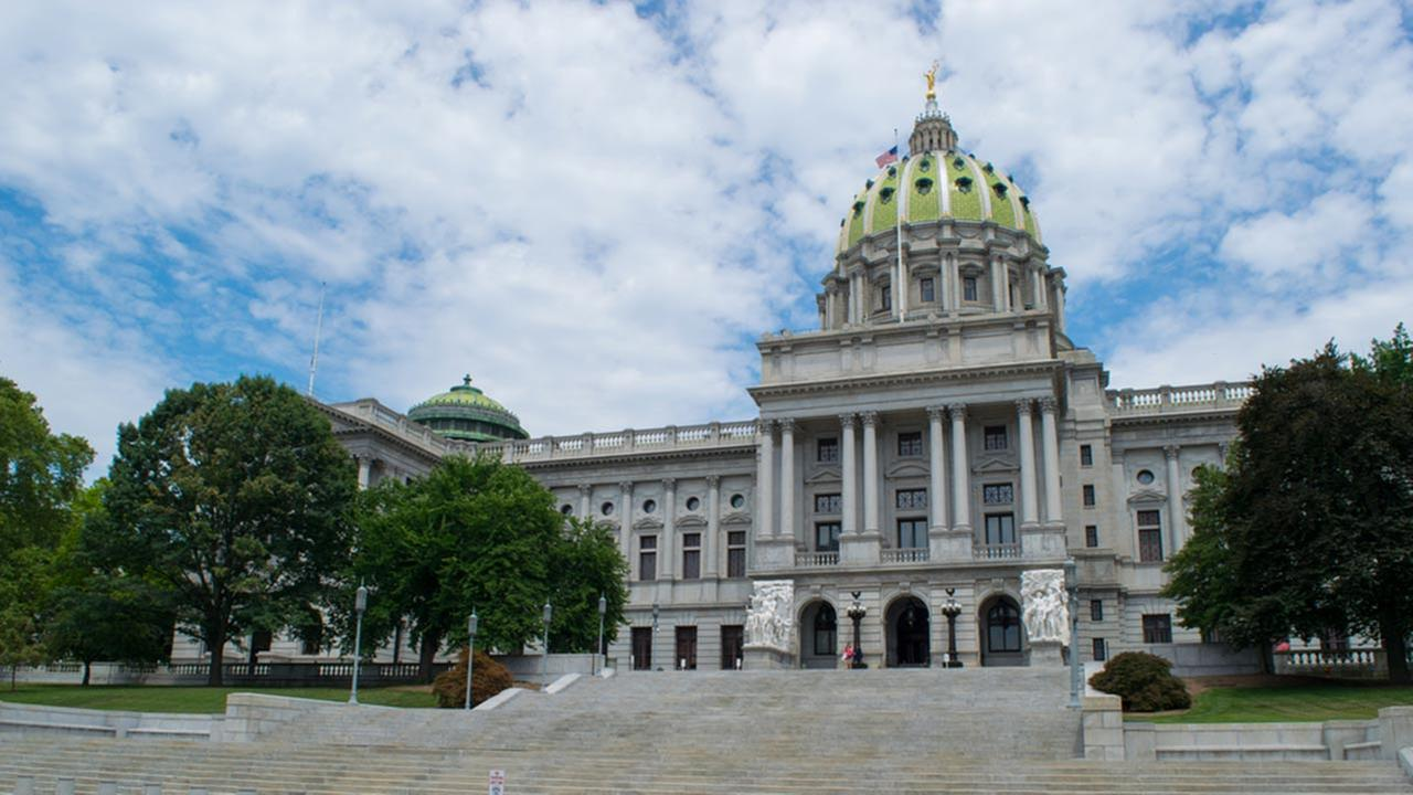 Pictured: Pennsylvania Capitol Building in Harrisburg, Pa.