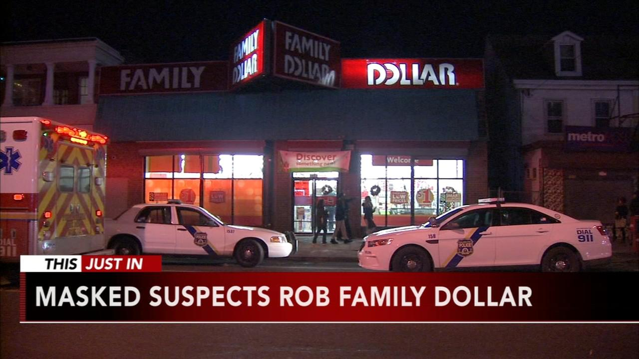 Masked suspects rob Family Dollar at gunpoint