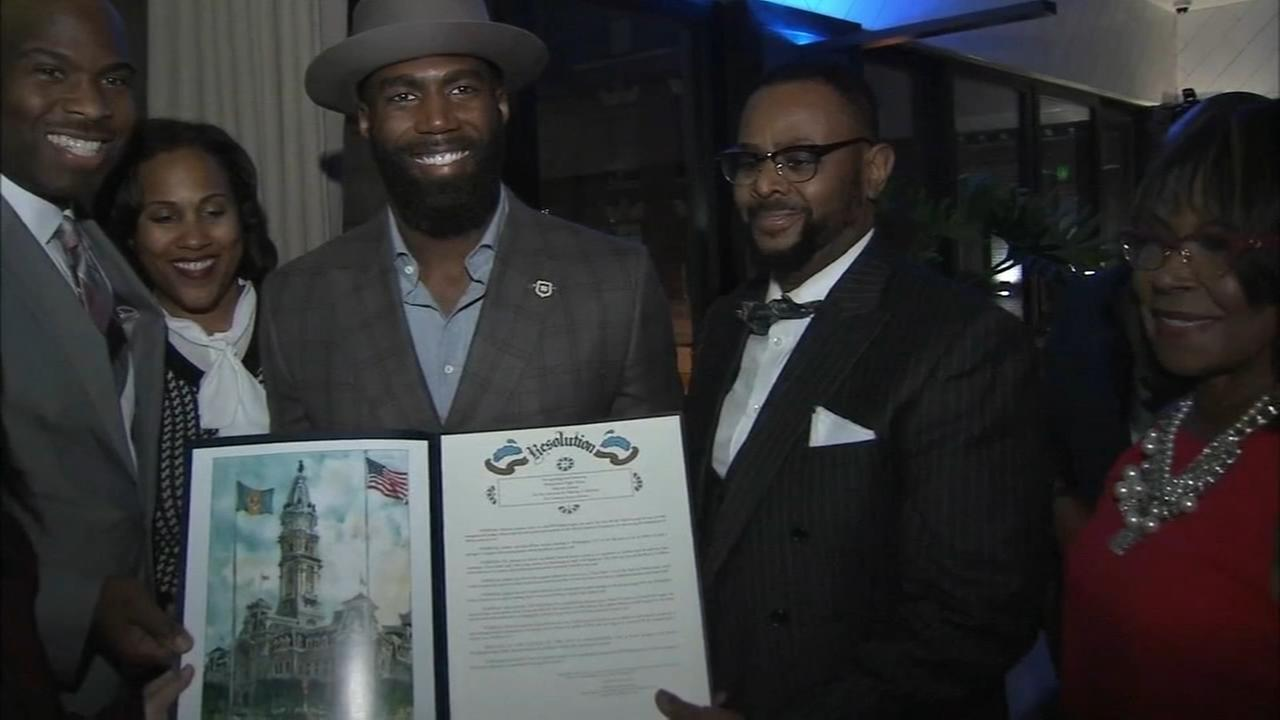 Eagles Malcolm Jenkins honored