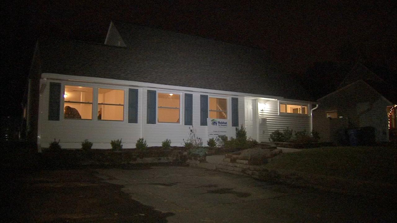 Habitat for Humanity helps family with new home for holidays