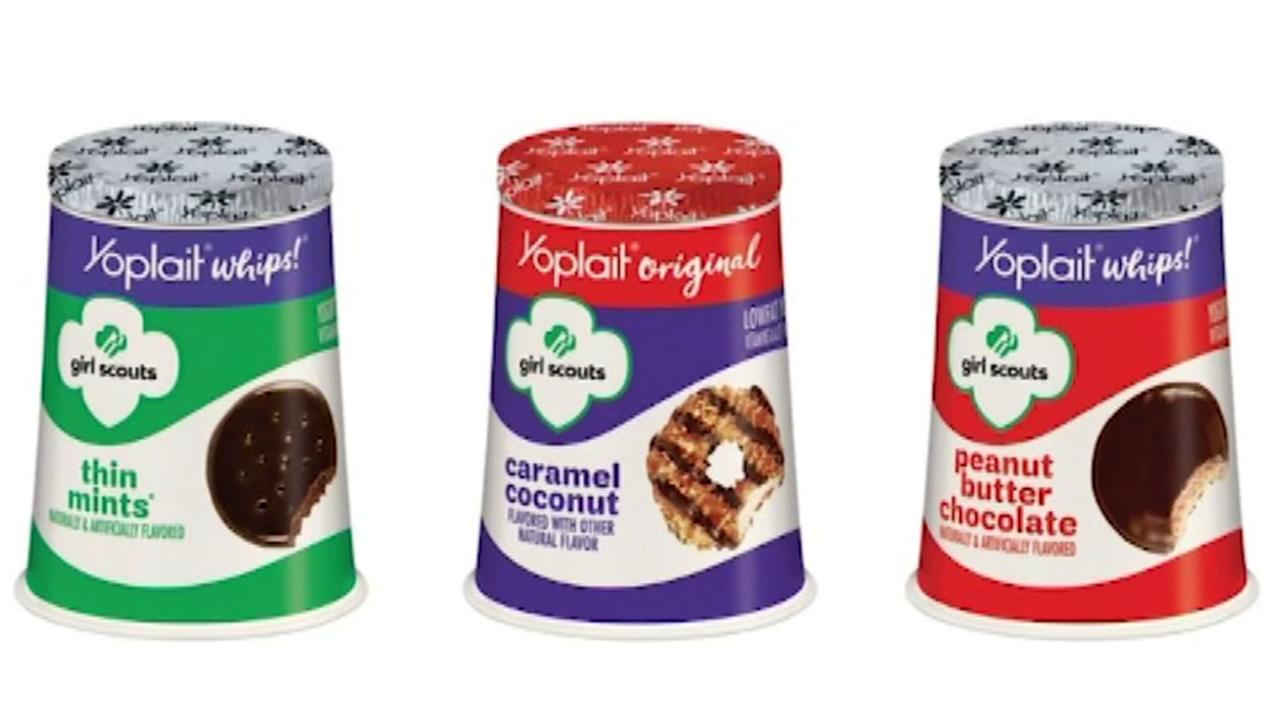 Yoplait unveils Girl Scout cookie flavored yogurt