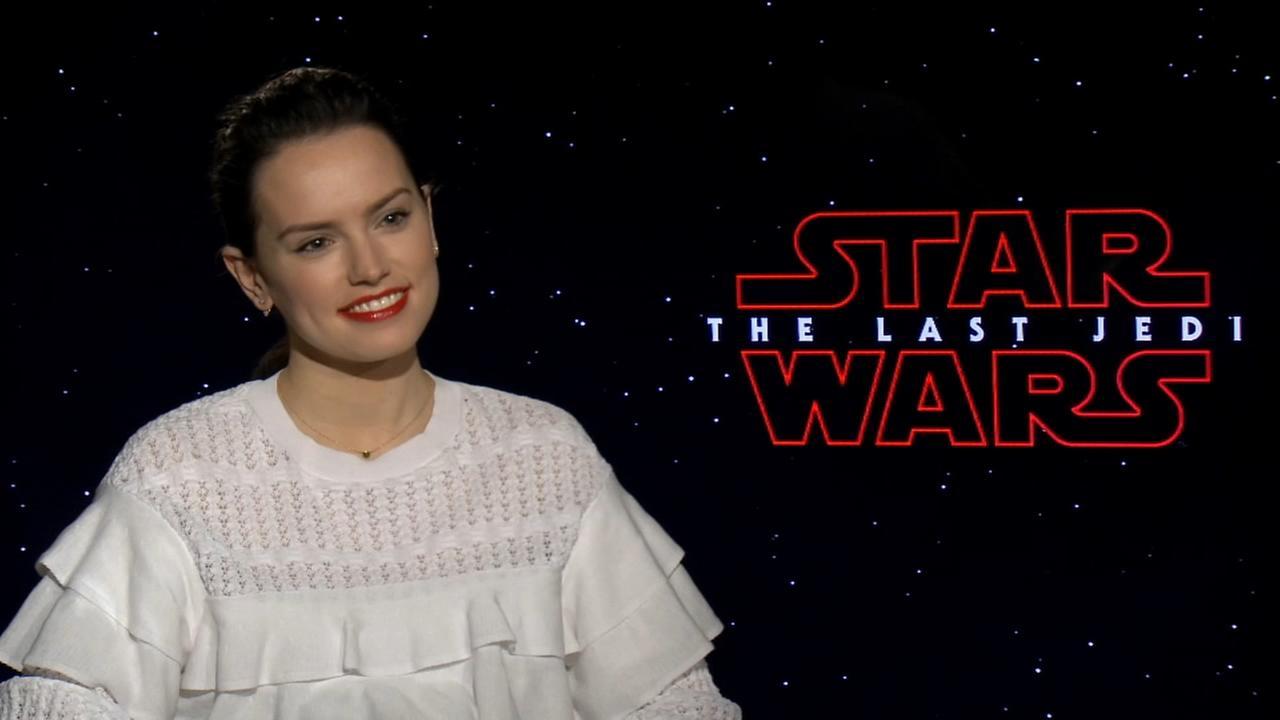 Sharrie Williams interviews Star Wars Daisy Ridley