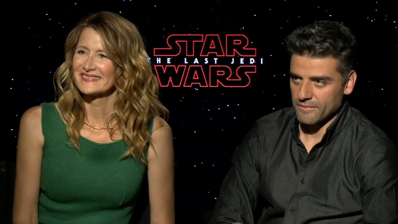 Sharrie Williams interviews Star Wars Lauren Dern and Oscar Isaac