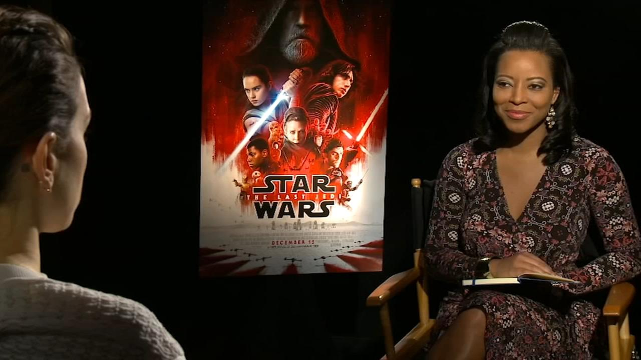 Sharrie Williams interviews Star Wars: The Last Jedi cast