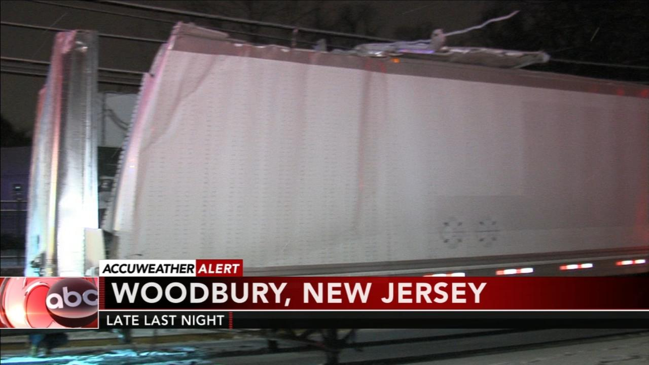 Crash in Woodbury, New Jersey