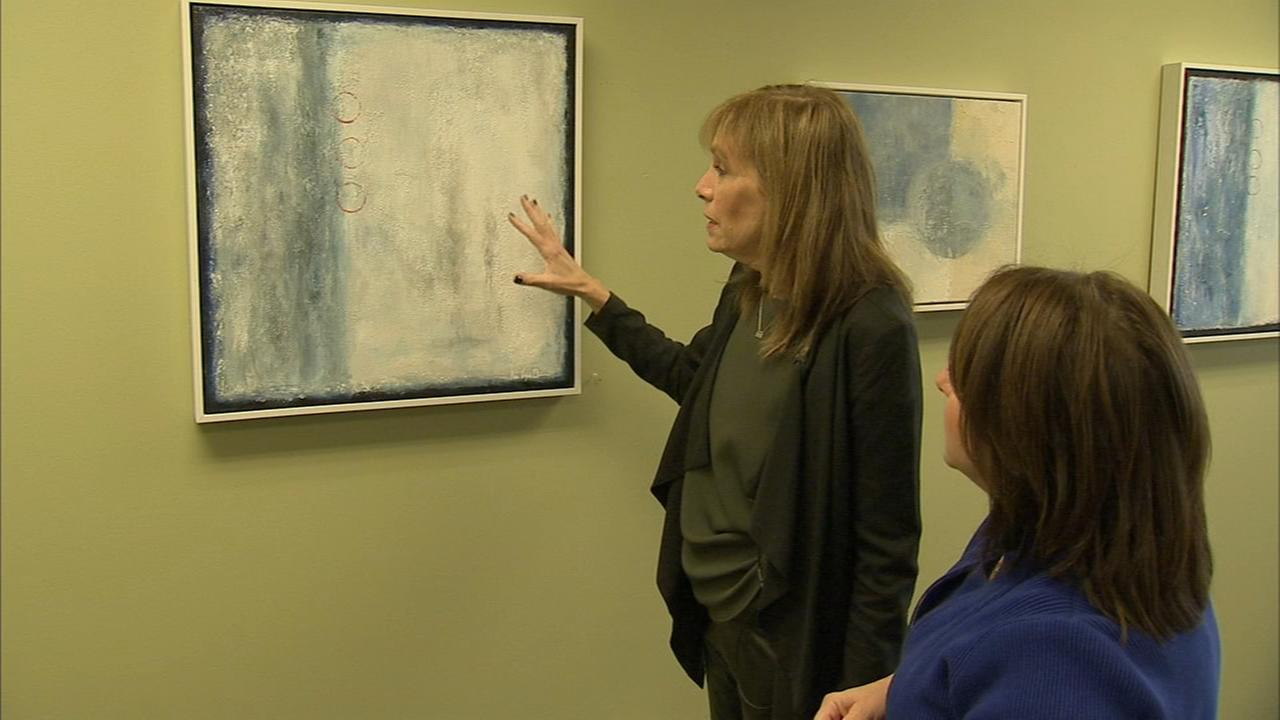 Cancer patient uses art to escape