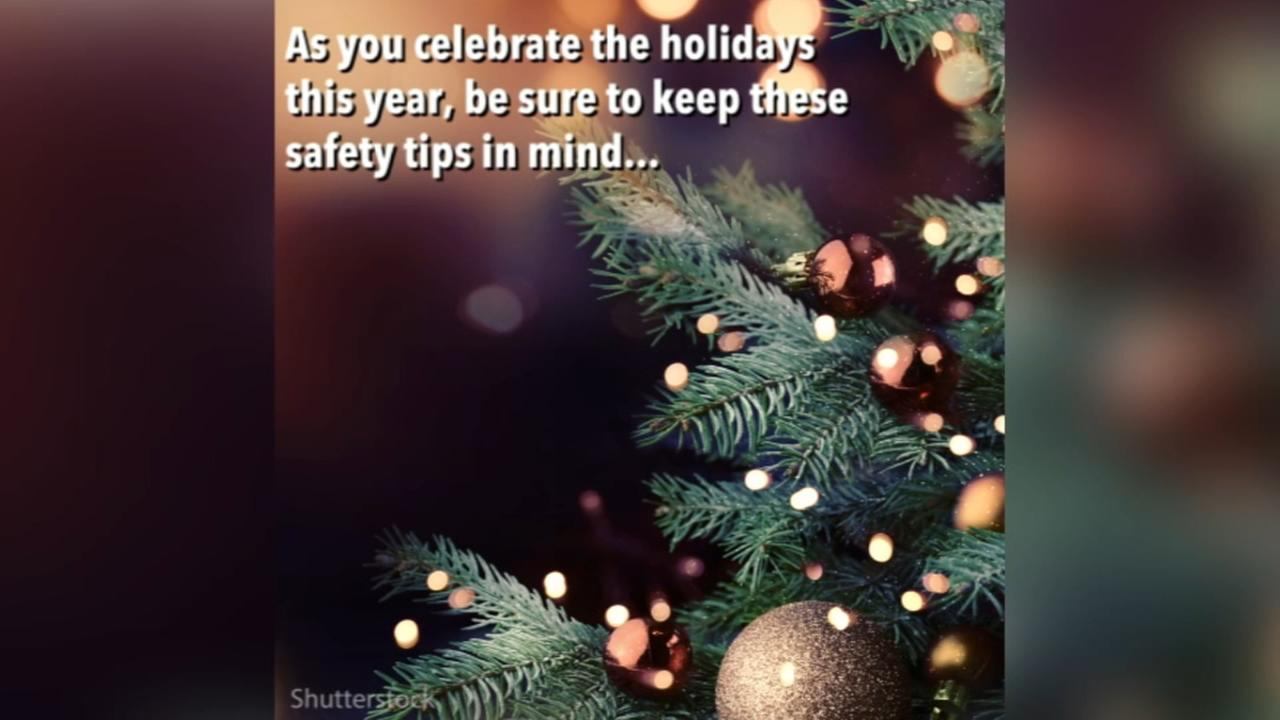 Safety tips to keep in mind during the holiday season