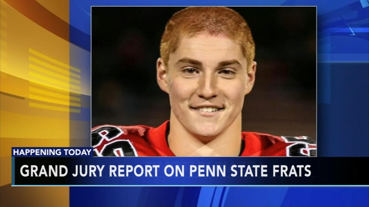 Grand jury report on Penn State hazing expected