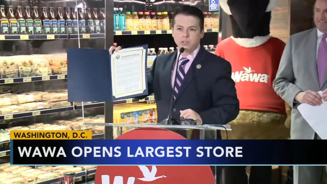 Wawa opens biggest-ever store