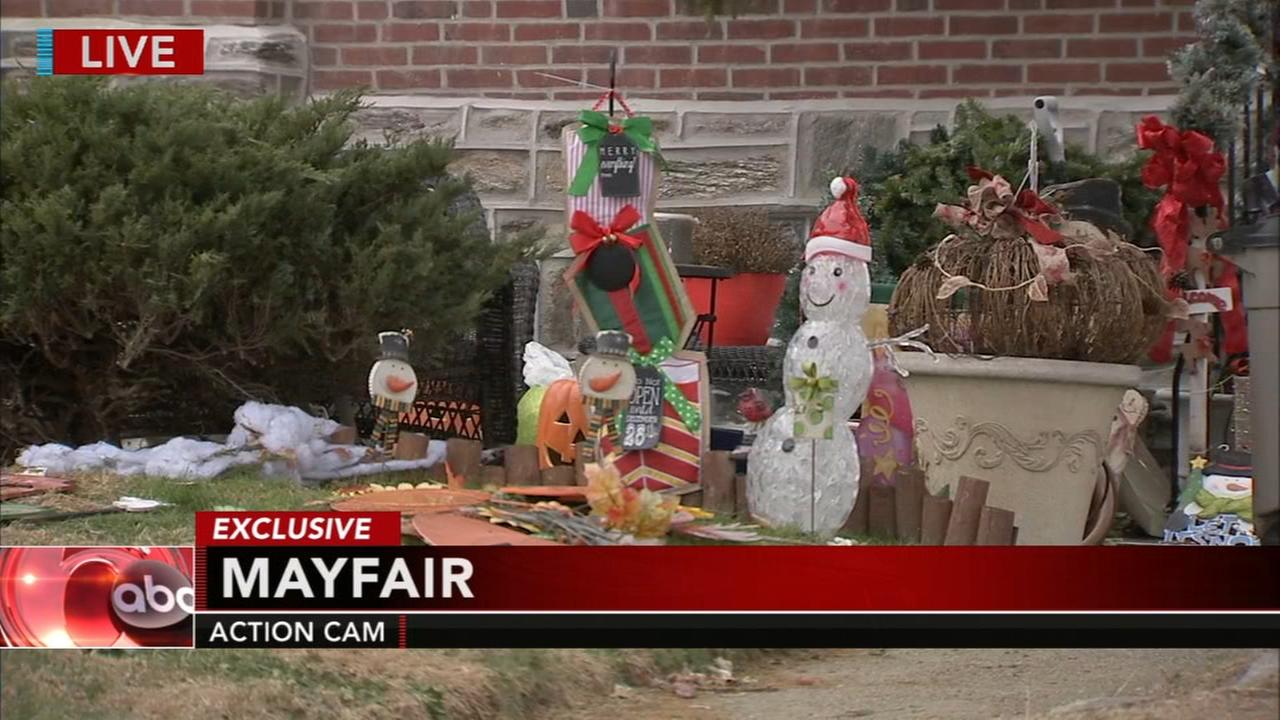 Stolen holiday decorations found in womans home