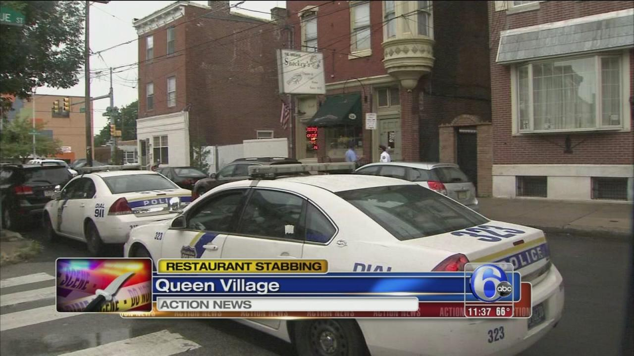 VIDEO: Police: Cook stabbed by coworker at restaurant in Queen Village