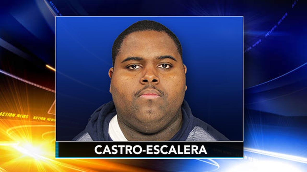 23-year-old Edxon O. Castro-Escalera is charged with sexually assaulting two children while babysitting them inside their Reading home.