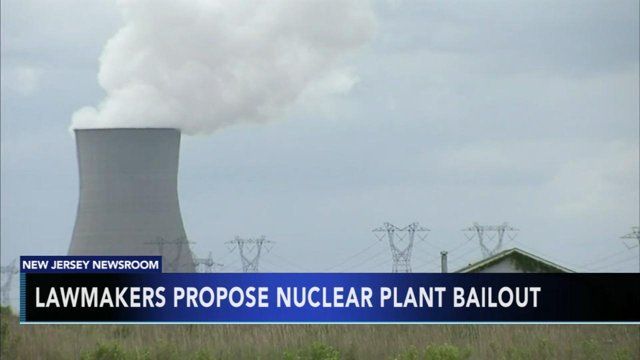 NJ lawmakers propose nuclear plant bailout