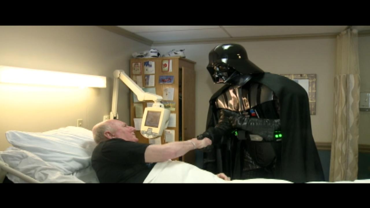 Dying mans wish to see new Star Wars movie coming true