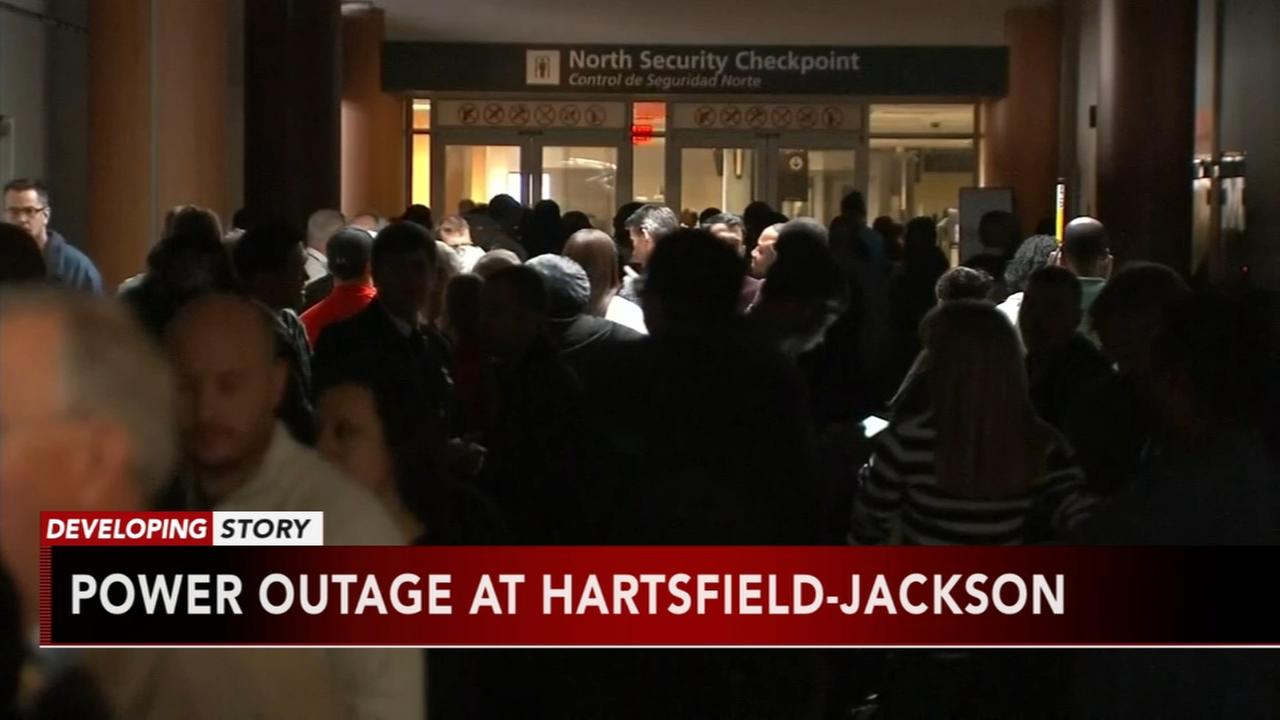 Power outage at Hartsfield-Jackson Airport