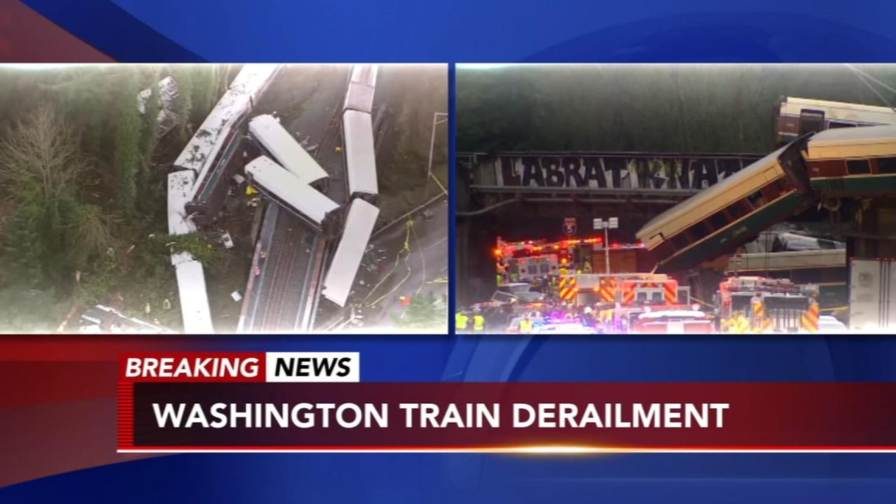 Amtrak Train Derailment in Washington State