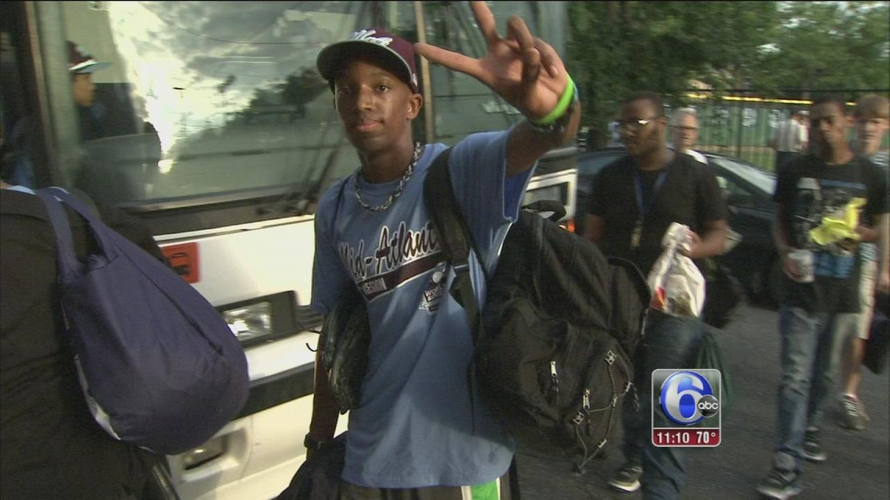 VIDEO: Philly welcomes back Taney Dragons