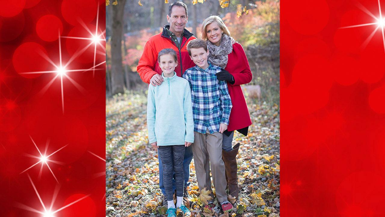 Cecily Tynan and her family get ready to celebrate the holidays!
