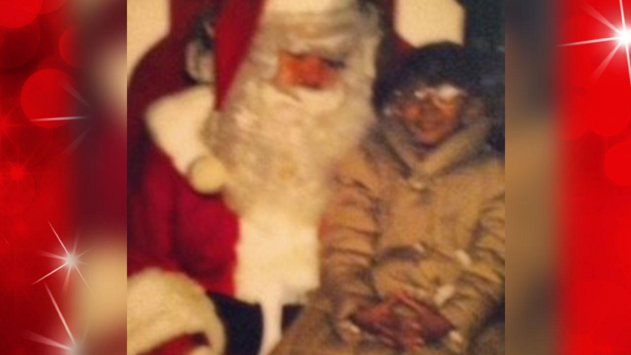 Cheyene Perez tells Santa what she hopes to get for Christmas!