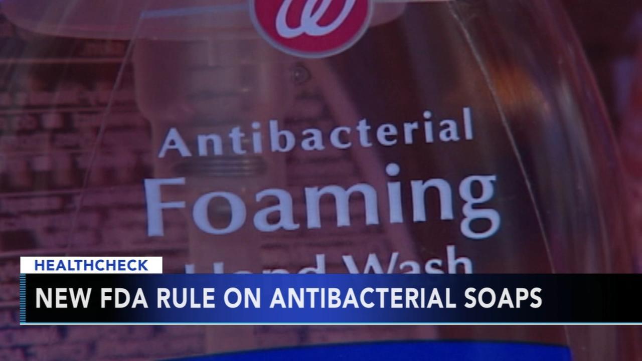 New FDA rule on antibacterial soaps