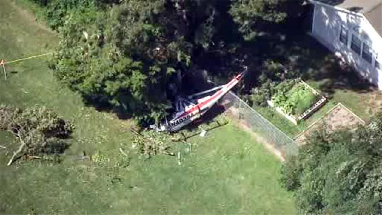 Helicopter crashes in Cape May County