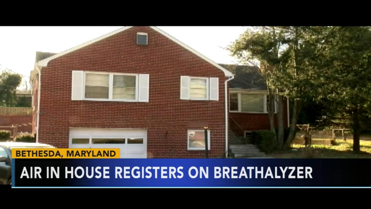 Air during frat party registers on Breathalyzer