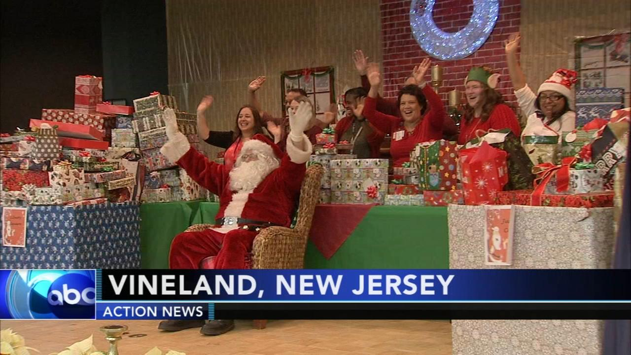 Hundreds of veterans at Vineland senior center receive holiday wish