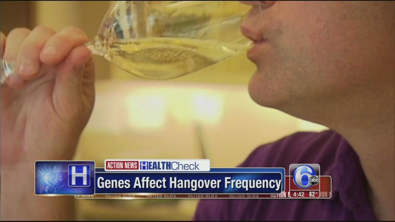 VIDEO: Genes may be to blame for monster hangovers