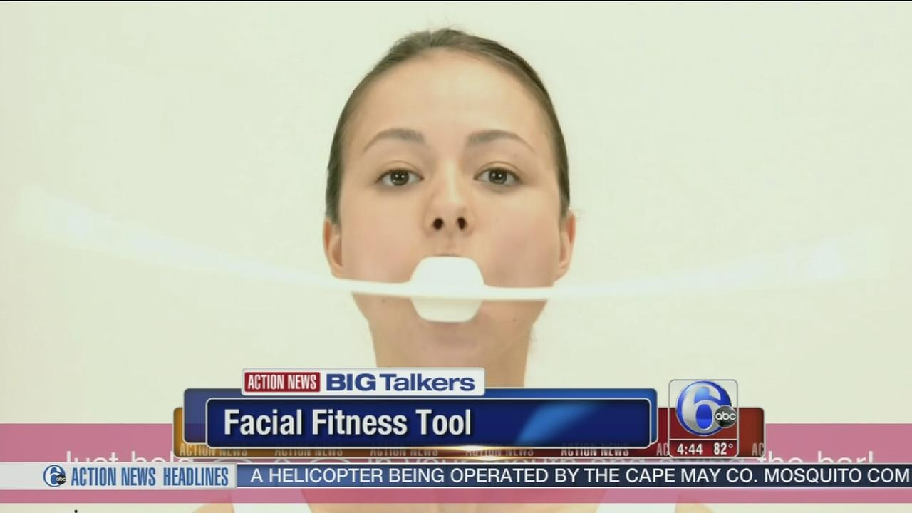 VIDEO: Fight aging with exercise machine - for your face