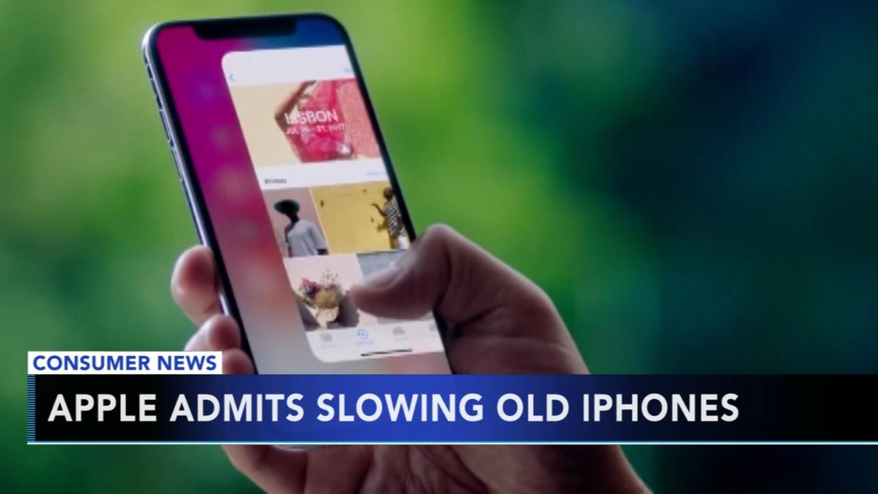 Apple admits to slowing old iPhones