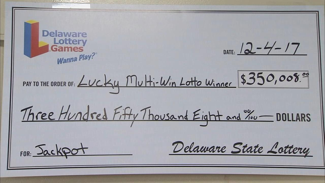 Wilmington man wins big just in time for the holidays