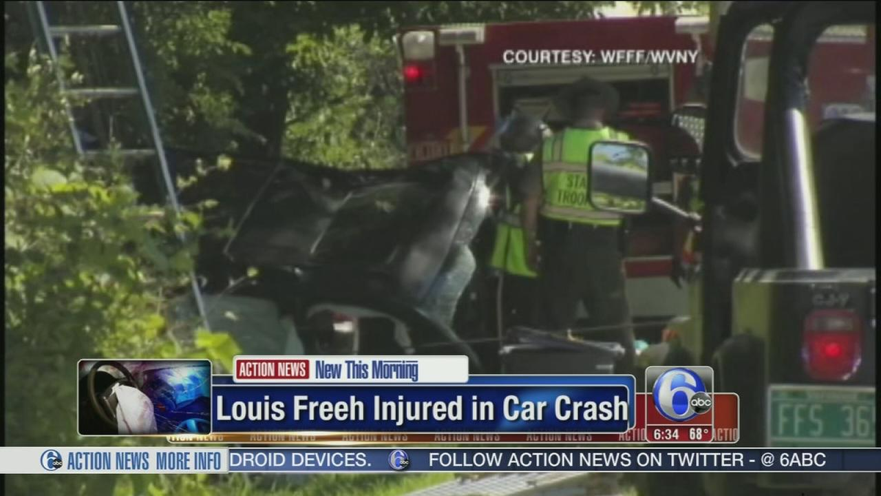 VIDEO: Freeh injured in SUV accident