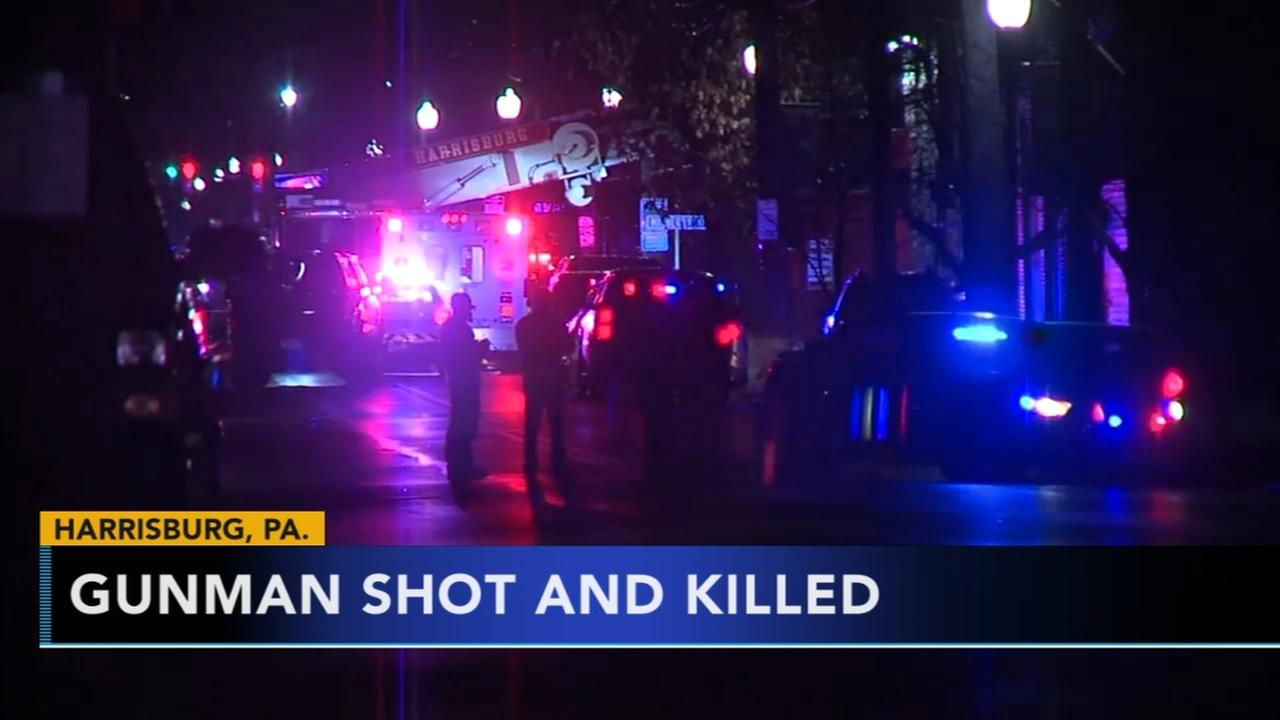 Officers shoot and kill gunman who fired at police