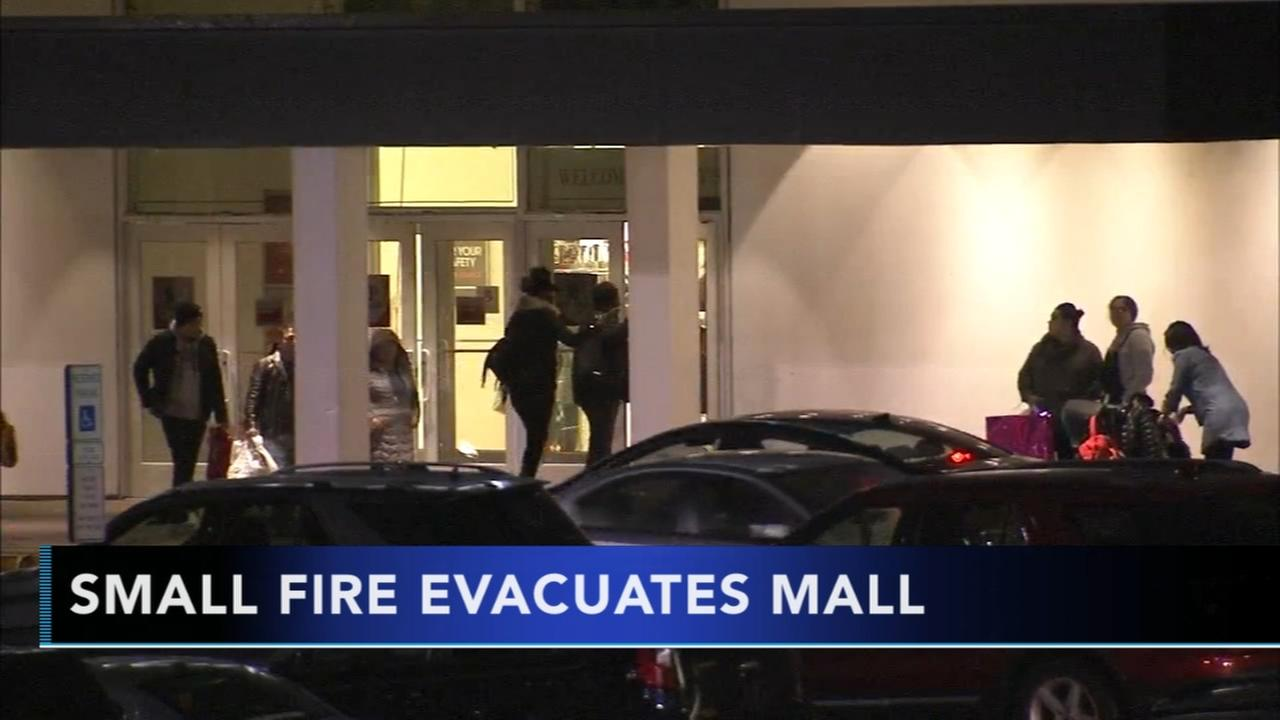 Small fire forces evacuations at Springfield Mall in Delco