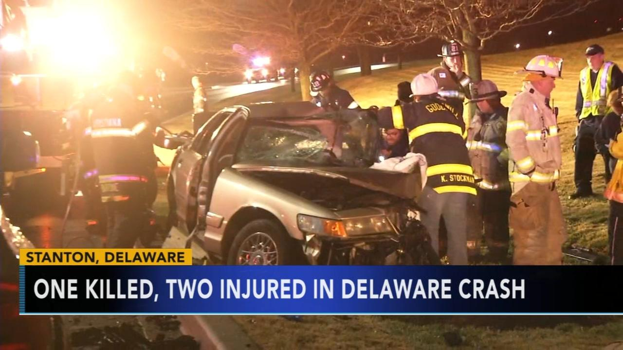 1 dead, 2 injured in crash at Delaware Park Racetrack and Casino